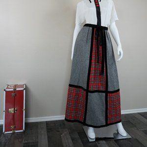 Vintage Plaid Mr. Hank A-Line Skirt